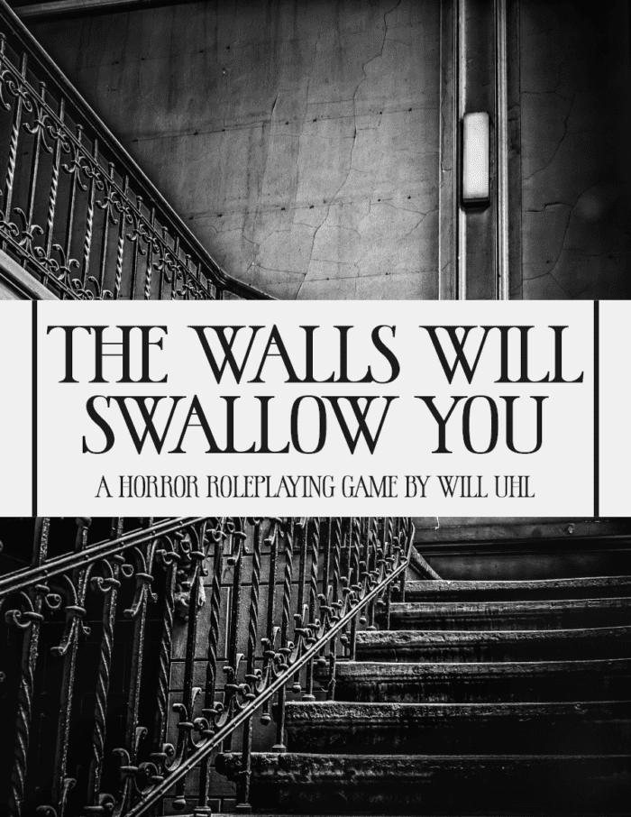 The Walls Will Swallow You Cover